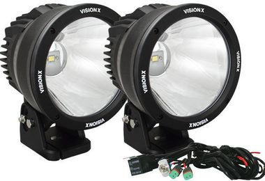 "6.7"" Cannon 50 Watt LED Driving Lights x 2 Kit (CTL-CPZ610KIT / JM-01857 / Vision X lighting)"
