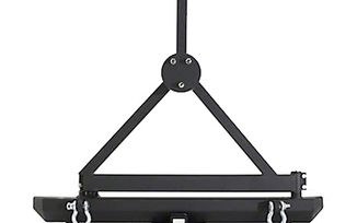Rear Bumper & Tire Carrier with D-Rings (SB76651D / JM-04688 / Smittybilt)