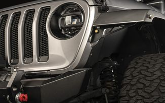 Chop Brackets, Front Fender,  JL (11640.91 / JM-04800 / Rugged Ridge)