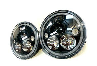 """7"""" Vortex LED Headlights x 2 (Matte Black) RHD (XIL-7RERFMBKIT / JM-05752 / Vision X lighting)"""