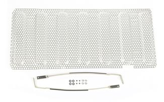 Stainless Steel Perforated Grill Insert, JK (11401.22/TF4310 / JM-04061OS / Rugged Ridge)