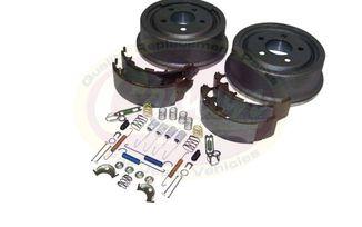 Drum Brake Service Kit (Rear), 90-00 (52005350KE / JM-01445 / Crown Automotive)