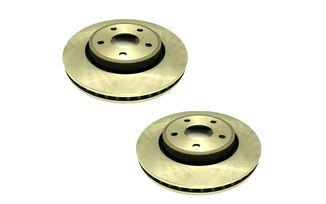 Disc Brake Rotor (Front Pair), WK & XK (J4BM47991OE / JM-04075 / Allmakes 4x4)