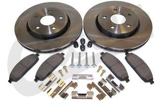 Disc Brake Service Kit (Front) (52089269K / JM-04014 / Crown Automotive)