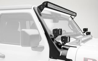 "52"" Roof Light and 3"" Cube Light Kit, JL (Z374831-KIT4 / JM-04510 / ZROADZ)"