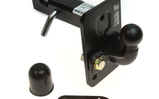 "2"" Receiver Hitch Tow Ball (E-marked) (1501.75 / JM-05623 / DuraTrail)"