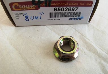 Flanged Hex Nut (U Bolt and Suspension) (6502697 / JM-00411SP / Crown Automotive)