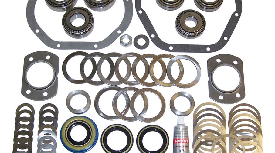 Master Rebuild Kit (D44 TJ) (D44TJDBMASKIT / JM-03654 / Crown Automotive)