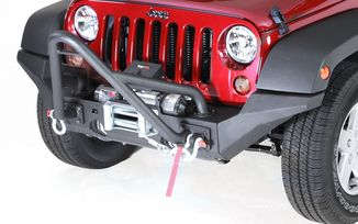 XHD High Clearance Bumper Ends, JK (11540.24 / JM-02610 / Rugged Ridge)