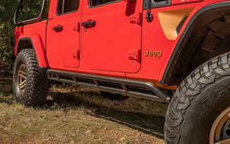 RRC Rocker Guards, JT (11504.38 / JM-05593 / Rugged Ridge)