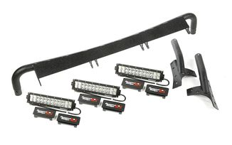 Windshield LED Light Bar Kit, JK (11232.26 / JM-02770 / Rugged Ridge)