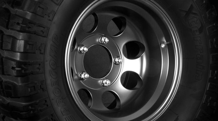Black Alloy Wheel, 15x10 (1430.21 / JM-03139 / DuraTrail)