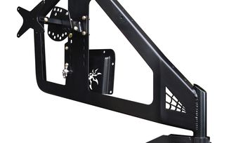 Frame Mount Tyre Carrier, JL (19-62-030TP1 / JM-04572 / Poison Spyder Customs)