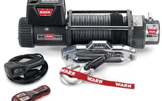 WARN 9.5XP Winch With Synthetic Rope (88850 / JM-02132 / Warn)