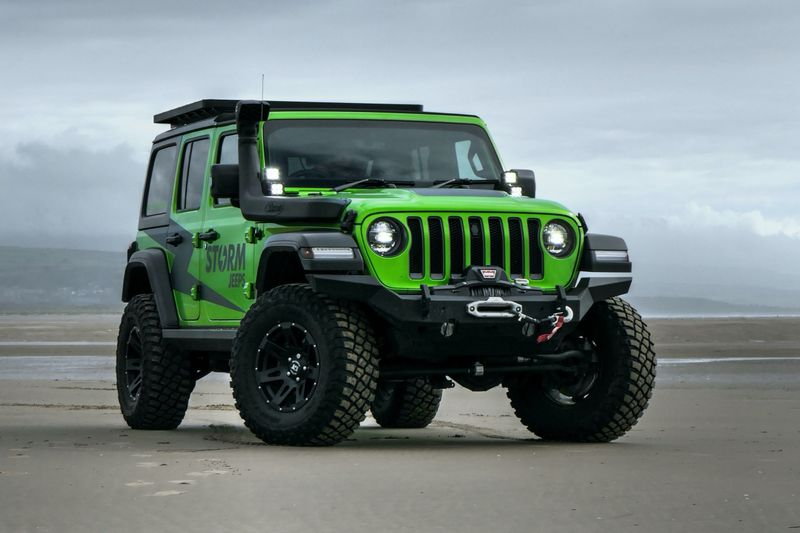 STORM-40, 2018 Jeep Wrangler JL Rubicon 4 Door 2.0L