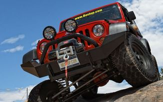 Front Recovery Bumper, HighRock 4x4, JK (42910-01 / JM-01148 / Bestop)