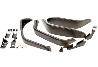 Flat Style Steel Fender Flares, JK (TF4070 / JM-04135 / Terrafirma)