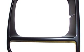 Headlight Bezel (Black-Right) (55055136 / JM-03490 / Crown Automotive)