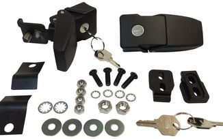 Locking Hood Catch Kit, JK (RT26057 / JM-01847 / RT Off-Road)