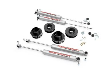 "2"" Spacer Lift Kit with Shocks, WJ (695N2 / JM-02801 / Rough Country)"