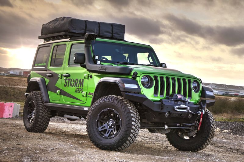 STORM-40, 2018 Jeep Wrangler JL Rubicon 4 Door 2.0L