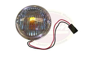 Front Parking Lamp, CJ (J5752771 / JM-01396OS / Crown Automotive)