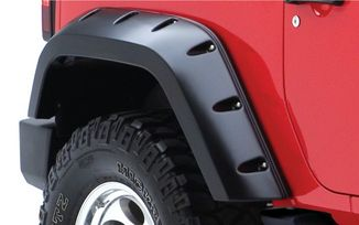 Rear Extended Pocket Fender Flare - JK 2 Door (10046-02 / JM-01605 / Bushwacker)