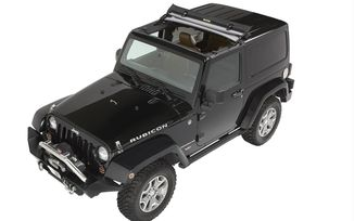 Sunrider for Hardtop, Black Diamond (52450-35 / JM-03099 / Bestop)